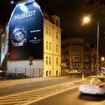 Oświetlona powierzchnia reklamowa Poznań Zeylanda Hubolt