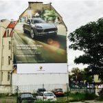 Reklama Outdoor Poznań Zeylanda Porsche