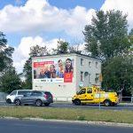 Kampania Centrum Franowo oświetlone ooh