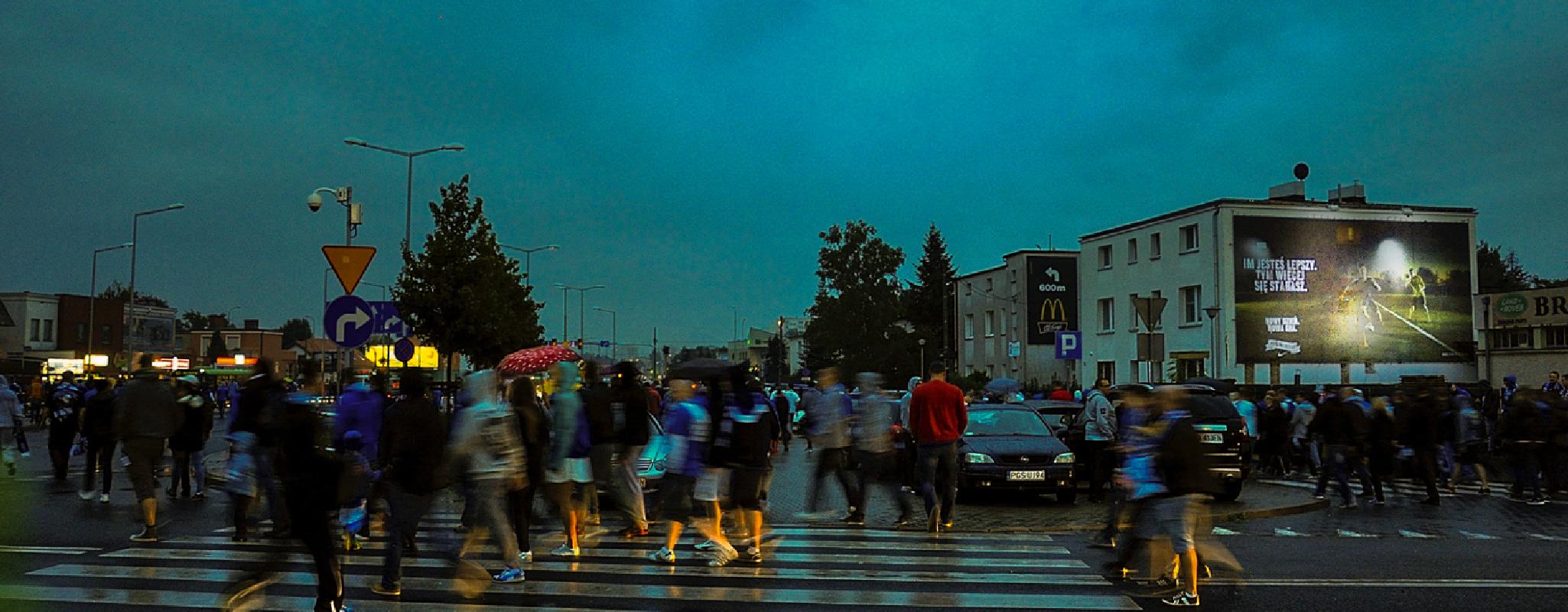 Powierzchnia OOH Poznań Bułgarska Nike