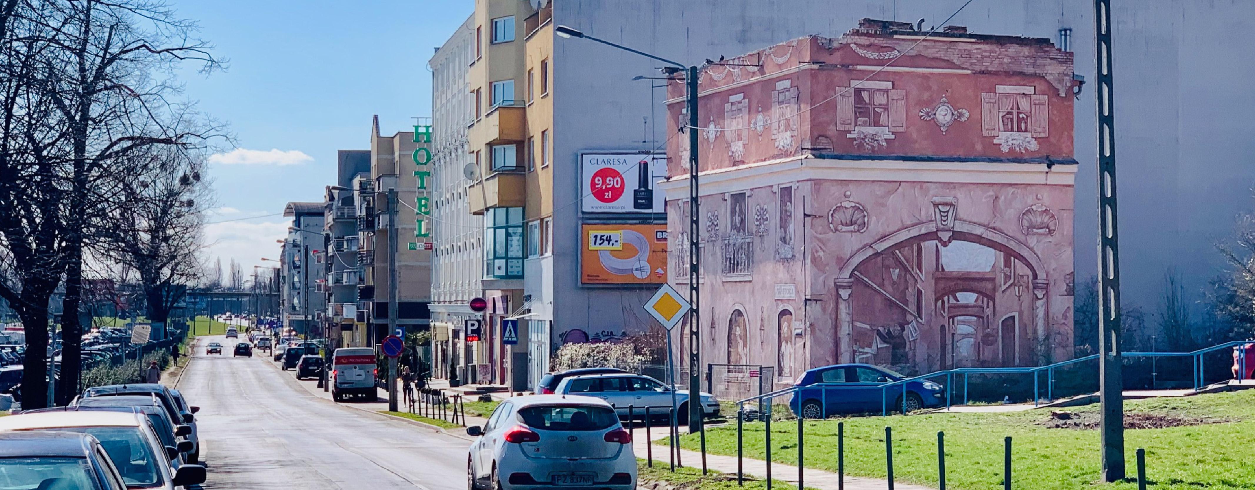 Powierzchnia pod Mural Dolna Wilda Poznań