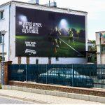 Powierzchnia wielkoformatowa Bułgarska Poznań Nike