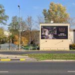 Reklama outdoor Rondo Rataje Poznań Polskie Meble