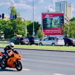 Reklama wielki format Poznań CH Posnania