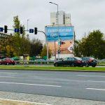 Wielki format ul. Bolesława Krzywoustego, reklama dla Itaka
