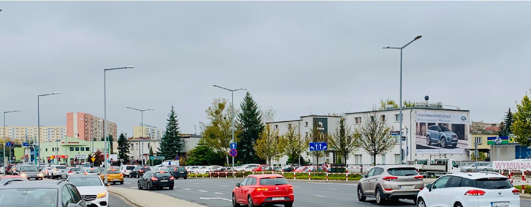 Wielki format Poznań Bułgarska Karlik