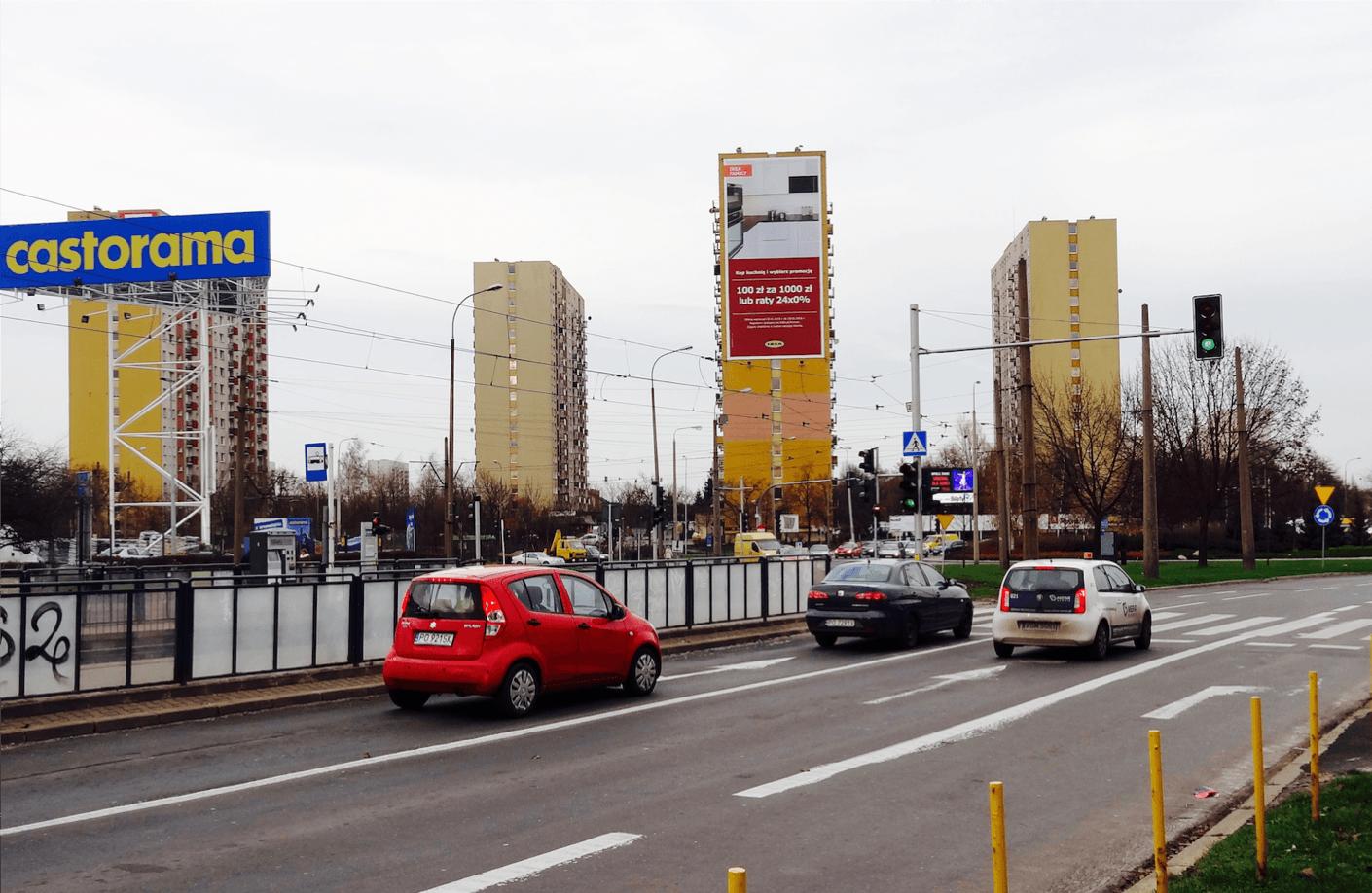 Rondo Solidarnosci Castorama Polskie Meble Biggroup