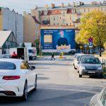 Duża powierzchnia reklamowa amazon Poznań Dolna Wilda