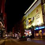 Kampania piwowarska Tyskie powierzchnia reklamowa Półwiejska