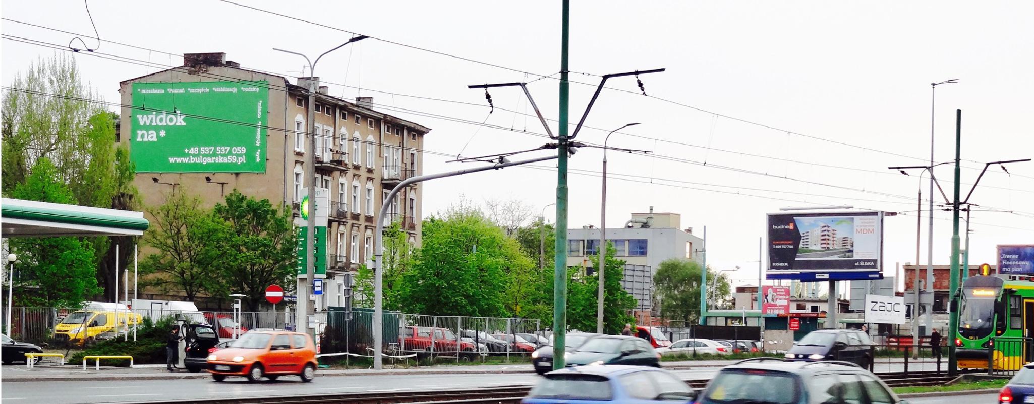 Powierzchnia outdoor Hetmanska Poznań Bułgarska