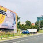 Reklama wielkoformatowa Dolna Wilda Wschód Poznań kampania dla Ikea