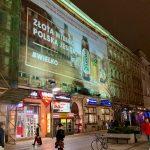 Powierzchnia reklamowa Półwiejska Poznań Lech Pils