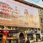 Reklama outdoor Poznań Półwiejska Wielkopolska