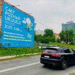 Reklama wielki format Poznan-Ukulele Dolna Wilda Wschod