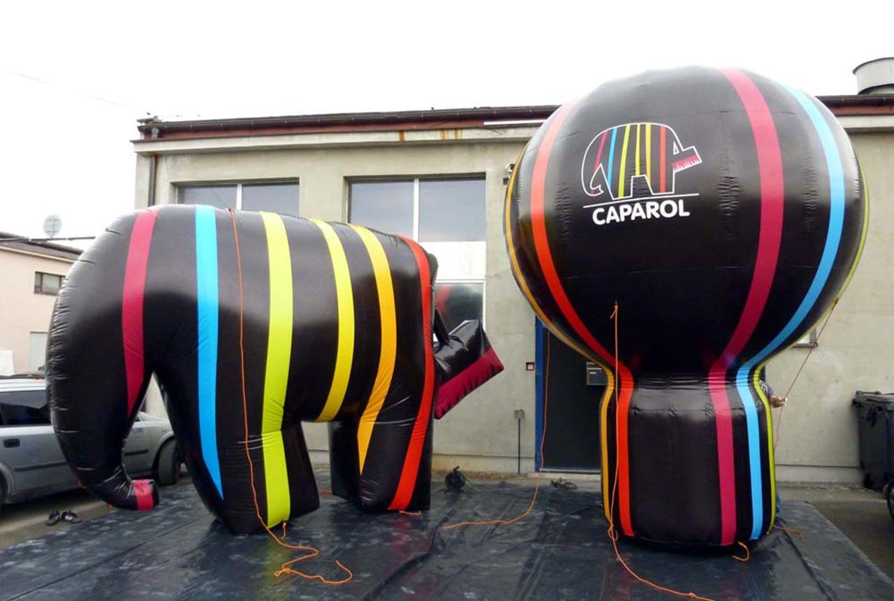 Producent reklamy w formie balonu