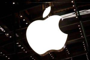 Apple znak podświetlany