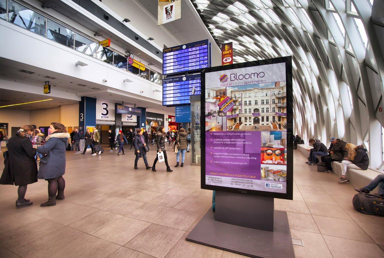 Producent reklamy typu citylight