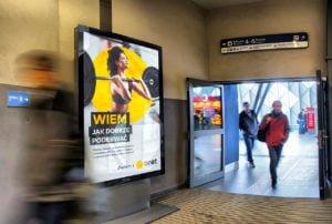 reklama citylight poznan