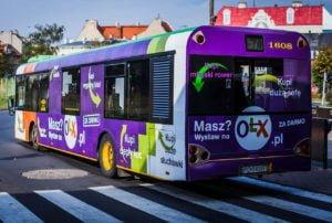 reklamy na autobusie poznan