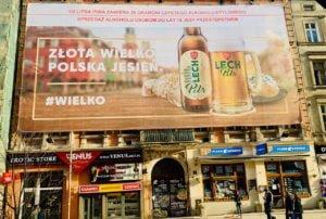 Kampania piwowarska na ul. Półwiejskiej