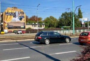 Ściany na wynajem w Poznaniu rondo Śródka