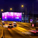 oświetlona reklama warszawa