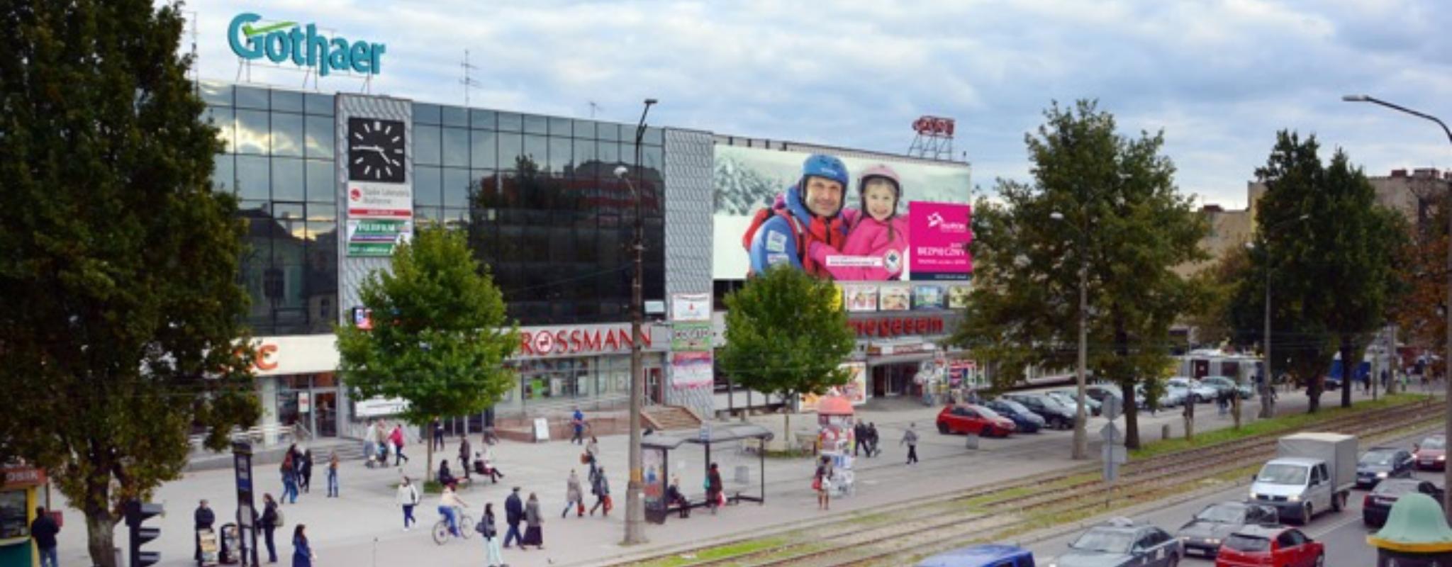 Częstochowa reklama outdoor