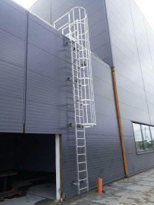Instalacje wysokościowe - montaż drabin