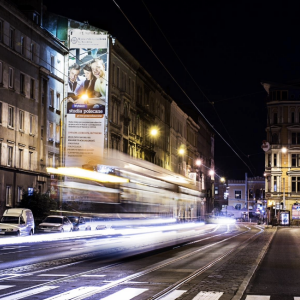 reklama dworzec Wrocław