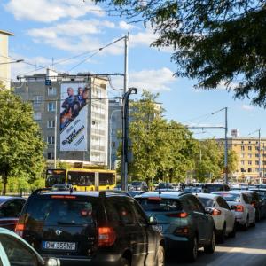 reklama Piłsudskiego Wrocław