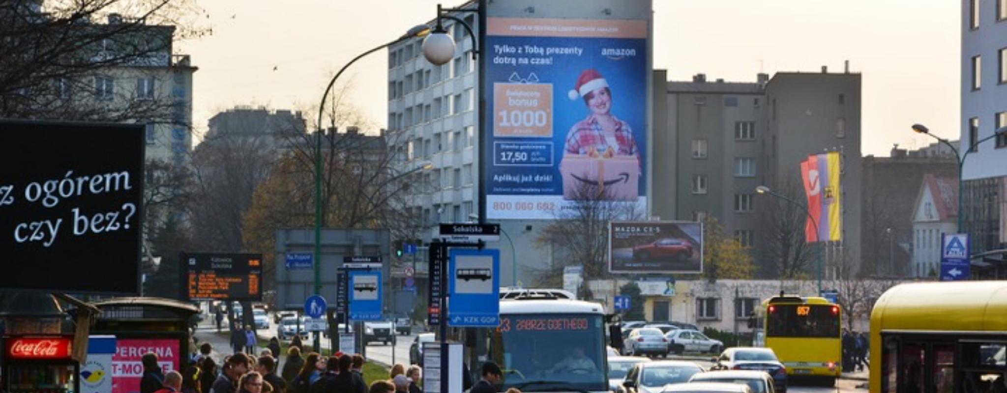 nośnik reklamowy katowice