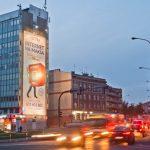 Oświetlona powierzchnia reklamowa w Opolu